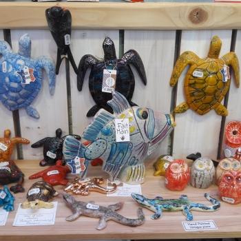 mini ceramic animals