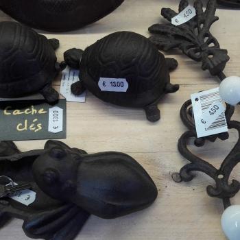 wrought iron animals