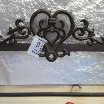 iron paper holder