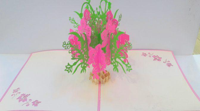 3D lace card
