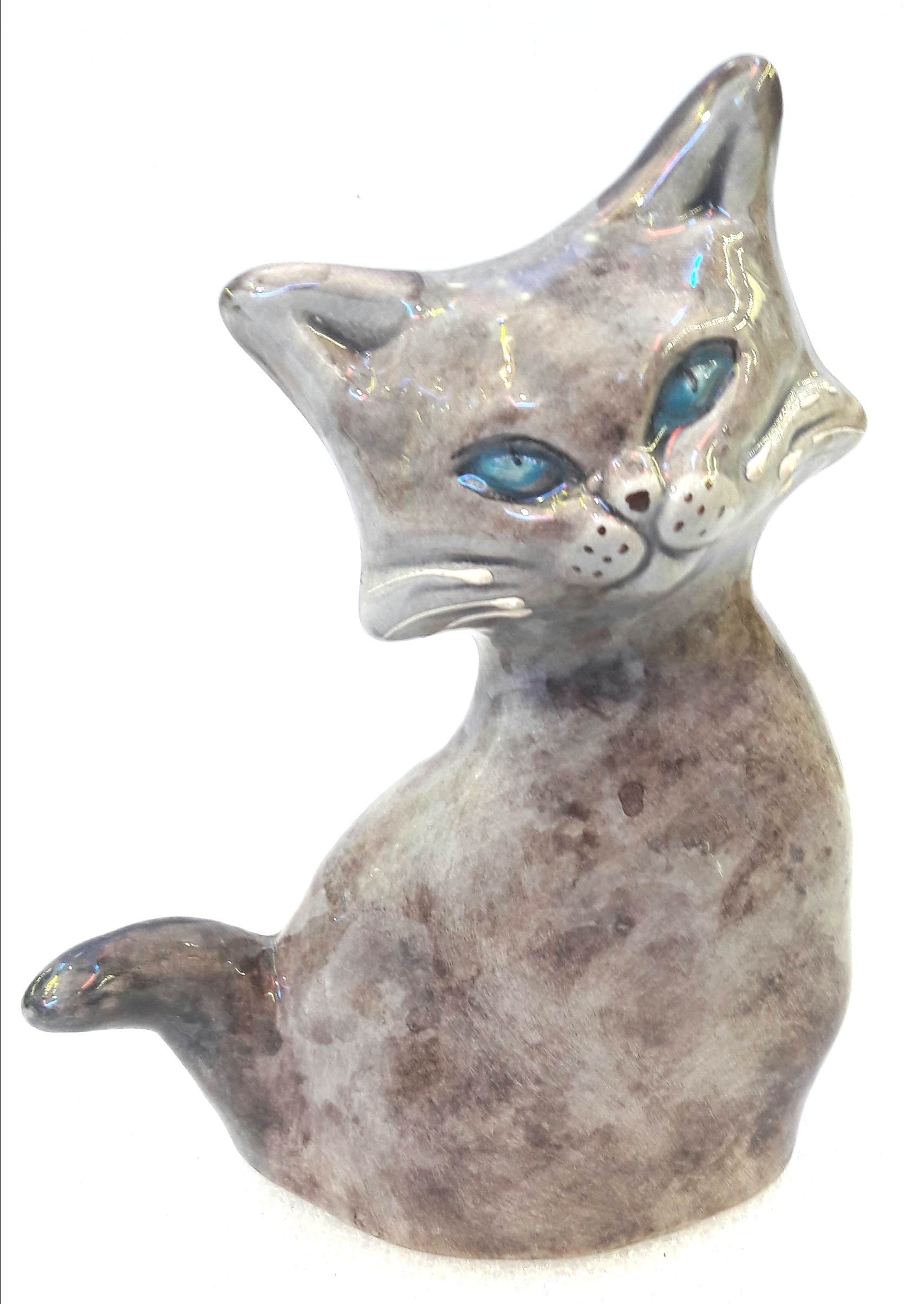chat gris marron en d coration boutique idellia au centre de hy res. Black Bedroom Furniture Sets. Home Design Ideas