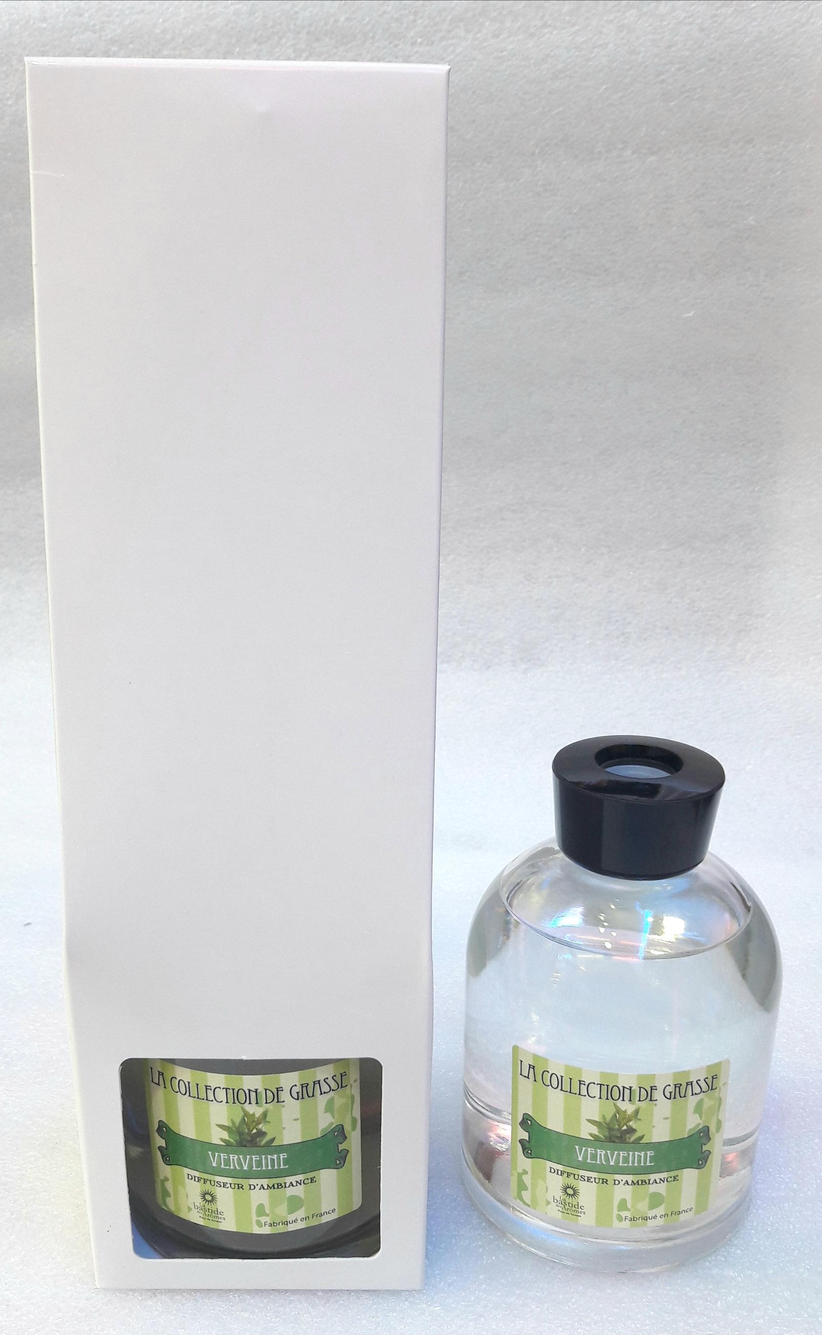 parfum d ambiance verveine de grasse boutique idellia au centre de hy res. Black Bedroom Furniture Sets. Home Design Ideas